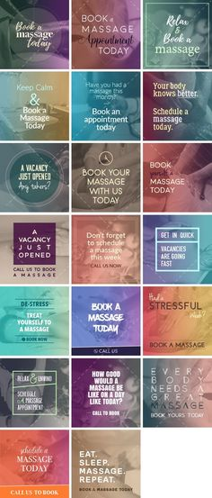 Book a Massage Bundle | By Healthinomics - Social media content for your massage business.
