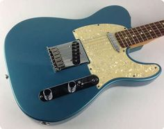 Super cool and great playing 1997 Fender USA Telecaster in one of my personal favorite Fender finishes, Lake Placid Blue. Overall in great condition less some play wear and minor dings. Plays and Fender Squier Telecaster, Fender Guitars, Bass Guitars, Acoustic Guitars, Electric Guitars, Guitar Keys, Cool Guitar, Blue Guitar, Used Guitars