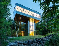 gluckplus luxueuse maison tour au dessus de la foret 2 Gluck+ maison tour au dessus de la forêt tour photo maison image gluck+ forêt can...