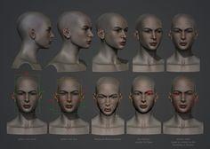 Frenja Facial Metrics by polyphobia3d.deviantart.com on @deviantART