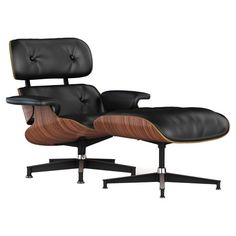 I have always loved this chair.  Found it at AllModern - Quick Ship Eames Lounge & Ottoman in Black & Walnut