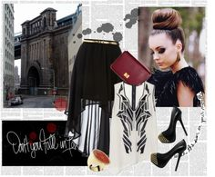 """""""FASHION IS ART"""" by miss-cookie ❤ liked on Polyvore"""