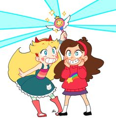 ladugard:  Gravity Falls vs. the Forces of Evil!!I'm just waiting for this crossover to happen. You know it would be awesome.