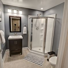 Thinking Of Building A Bathroom In Your Basement? Youu0027ll Need To Come Up  With Really Classy Basement Bathroom Ideas So That You Can Enjoy Yourself  In Peace, ...