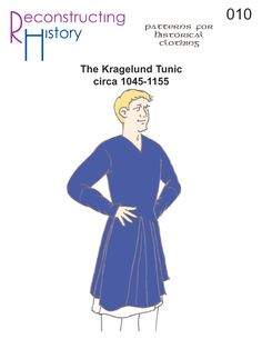 Dark Ages Tunic I Medieval Tunic pattern I Medieval Period clothing Historic Patterns...good selection