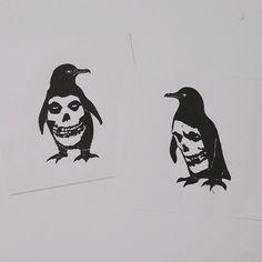 misfits wall art