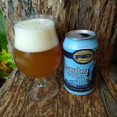 """From Cigar City Brewing in Tampa Florida comes their """"Guayabera Citra Pale Ale"""". For a full review click on the link below.   http://wp.me/p2vssO-ewc"""