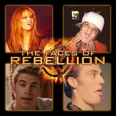 The faces of the rebellion... hahahahahaha, so glad that the rebellion isn't real then!!!! that would be sad!
