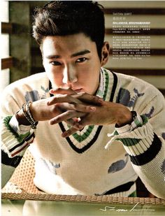 Super Junior Siwon - LEON Magazine June Issue 13 Come visit kpopcity.net for the largest discount fashion store in the world!!