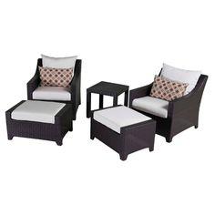 RST Brands Deco  5-piece Club Chair