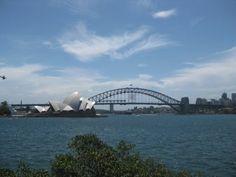 Sydney Harbour.  I'd love to travel to Australia