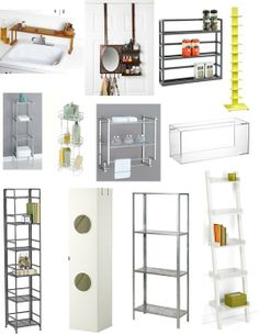 Rental Essentials:  Smart Bathroom Shelving   Renters' Solutions