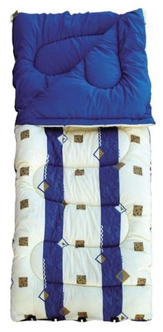 Royal Umbria 60oz Super King Sleeping Bag Blue 40,25