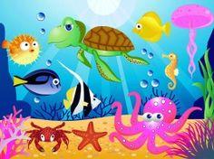 Kinderwelten - Tiere Unter Dem Meer, 4-Teilig