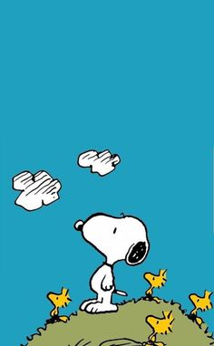 Find images and videos about dog, cartoon and snoopy on We Heart It - the app to get lost in what you love. Calvin And Hobbes Wallpaper, Snoopy Wallpaper, Cartoon Wallpaper, Iphone Wallpaper, Snoopy Love, Snoopy E Woodstock, Peanuts Cartoon, Peanuts Snoopy, Cute Backgrounds