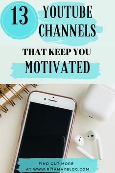 13 YouTube channels that keep me motivated. #motivationalyoutubechannel #motivation #youtube motivational YouTube channel Motivation Youtube, Good Motivation, Stress Management Strategies, Time Management, Self Development, Personal Development, Etsy Business, Business Tips, Etsy