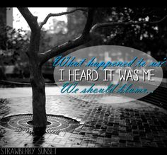 "This is a picture I edited for the song ""Which to Bury Us or the Hatchet"" by Relient K"