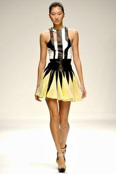 David Koma Spring 2011 Ready-to-Wear Fashion Show