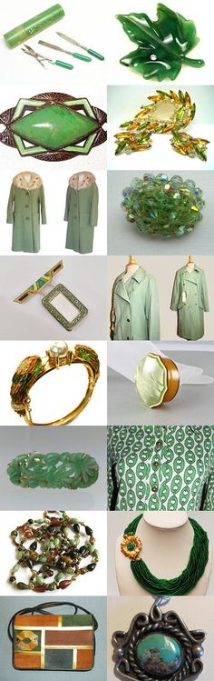 TeamLove, the golden greens one! by Susanna Schwertner on Etsy--Pinned with TreasuryPin.com