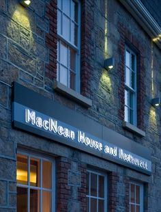 Experience the best food and hospitality Ireland has to offer at Neven Maguire's award-winning MacNean House & Restaurant in Blacklion, Cavan House Restaurant, Restaurants, To Go, Hotels, Restaurant