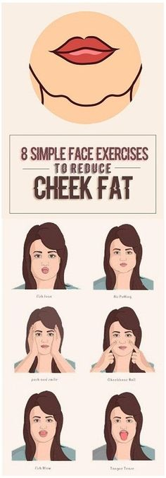 8 Simple Exercises to Reduce Chubby Cheeks Fat
