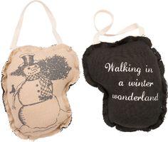 Item # 28842   Fabric Orn. - Wonderland   Primitives by Kathy