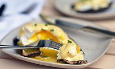 Portobello Mushroom Eggs Benedict