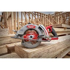 Milwaukee M18 FUEL 18-Volt 7-1/4 in. Lithium-Ion Cordless Rear Handle Circular Saw Kit with 12.0 Ah Battery and Rapid Charger-2830-21HD - The Home Depot Led Work Light, Work Lights, Saw Tool, Cordless Circular Saw, Milwaukee M18, Cordless Tools, Electronic Recycling, Battery Sizes, New Construction