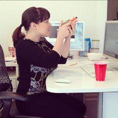 Inter-office warfare is brewing ...