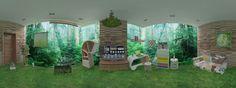 Rainforest inspired online room