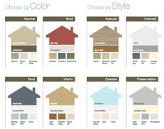 Colors · Exterior Siding ColorsHouse ...