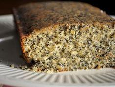 Lemon Glazed Poppy Seed Coffee Cake