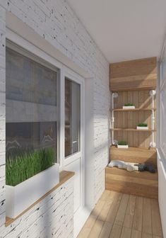 6 Beautiful Home Designs Under 30 Square Meters [With Floor Plans] Small homes can look bigger with space-saving furniture and smart organization. Apartment Balcony Decorating, Apartment Balconies, Cool Apartments, Apartment Interior, Apartment Design, Interior Balcony, Apartment Ideas, Small Balcony Design, Small Balcony Decor