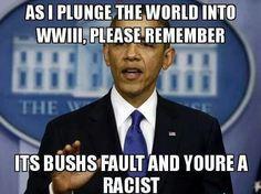 Obama no responsibilty