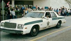 Retired Deputy Rodell Cranfords 1978 Chrysler Newport Patrol Car