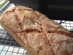 Pan de trigo sarraceno y arroz integral sin gluten- en molde (proporción 86% harinas/14% almidones)