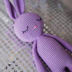 Crochet bunny pattern, Amigurumi animal pattern, Crochet toy pattern