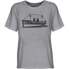 Mintage Tug Boat Toy Youth Fine Jersey T-Shirt