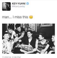 Kian don't aww man the tears are coming :(