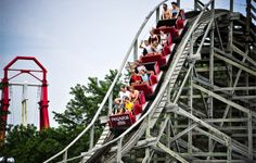 Summer thrills should include a ride on Pegasus' Rollercoaster! | Mt. Olympus Water & Theme Park Resort | Wisconsin Dells, WI |
