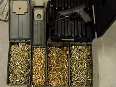 Ammo Boxes and Stockpiling FTW. Boom.