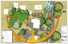 BIM in landscape architecture [with a focus on Revit] Site Analysis Architecture, Architecture Concept Drawings, Landscape Architecture, Landscape Plans, Sustainable Architecture, Landscape Design, Site Analysis Sheet, Sun Diagram, Bubble Diagram