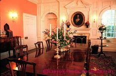 Historic Plantation Interiors   ... historic history home horz interior old plantation preserve room