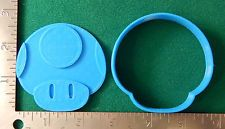 Mario Mushroom Toad Video Game - Novelty Cookie and Fondant Cutter!
