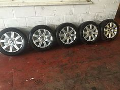 """Vw golf mk5 2004-2009 genuine 16"""" #imola alloy #wheels & #tyres x5 #2,  View more on the LINK: http://www.zeppy.io/product/gb/2/281946663105/"""