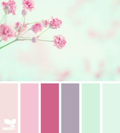 lovely colours for the little ones room.