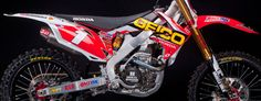 One Industries - 2012 Team Geico Graphic Kit (Honda)