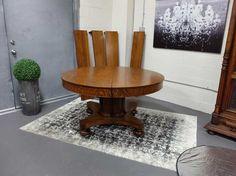 Antiques By Design R J Horner Victorian Oak Split Pedestal