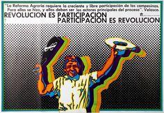Jesús Ruiz Durand, Cuatro afiches de difusión de la Reforma Agraria (Four propaganda posters for the Agrarian Reform), 1969-1972, Courtesy: Museo de Arte de Lima Collection, Contemporary Art Acquisitions