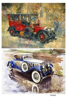 Нажмите чтобы посмотреть картинку, используйте мышь для перетаскивания. Используйте клавиши вперёд и назад Vw Vintage, Vintage Labels, Vintage Images, Vintage Prints, Vintage Posters, Decoupage Vintage, Car Illustration, Car Posters, Car Drawings